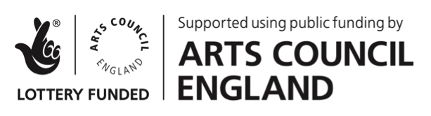 Arts Council England logo for Ricky Romain website